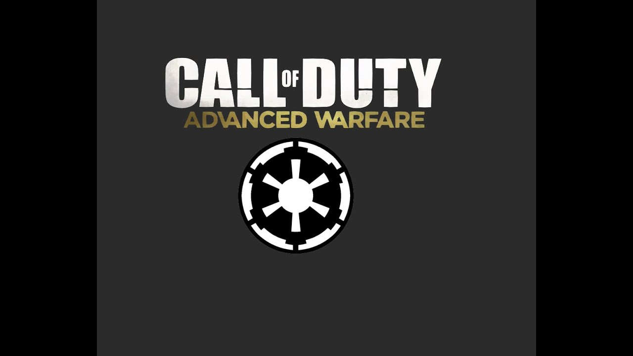 Advanced Warfare Star Wars Galactic Empire Emblem Youtube
