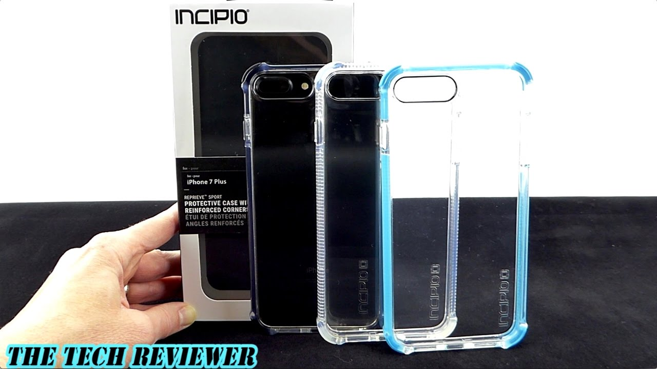 00e24043867 12 Feet of Drop Protection with a Crystal Clear Back: Incipio Reprieve  Sport for iPhone 7 Plus! - YouTube