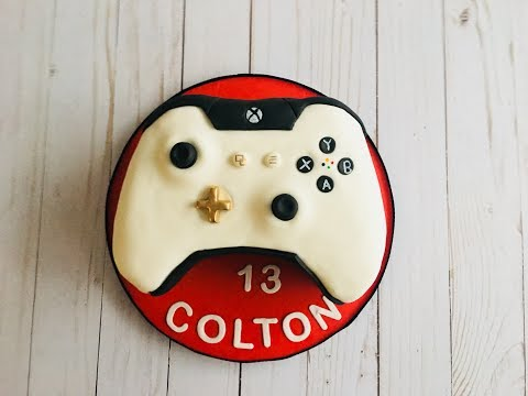 How To Make An Xbox Controller Cake