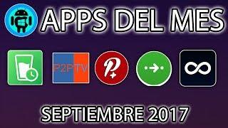 TOP 5 Mejores aplicaciones Android gratis SIN ROOT |Septiembre 2017