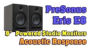 presonus Eris E8 Studio Monitor Acoustic Response Test