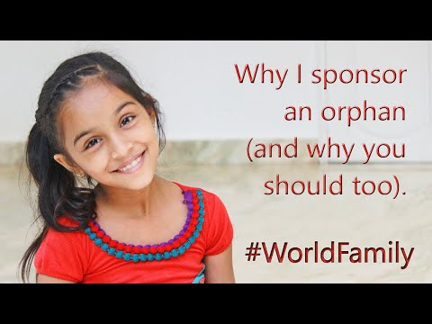 Why I Sponsor an Orphan (and why you should too..)