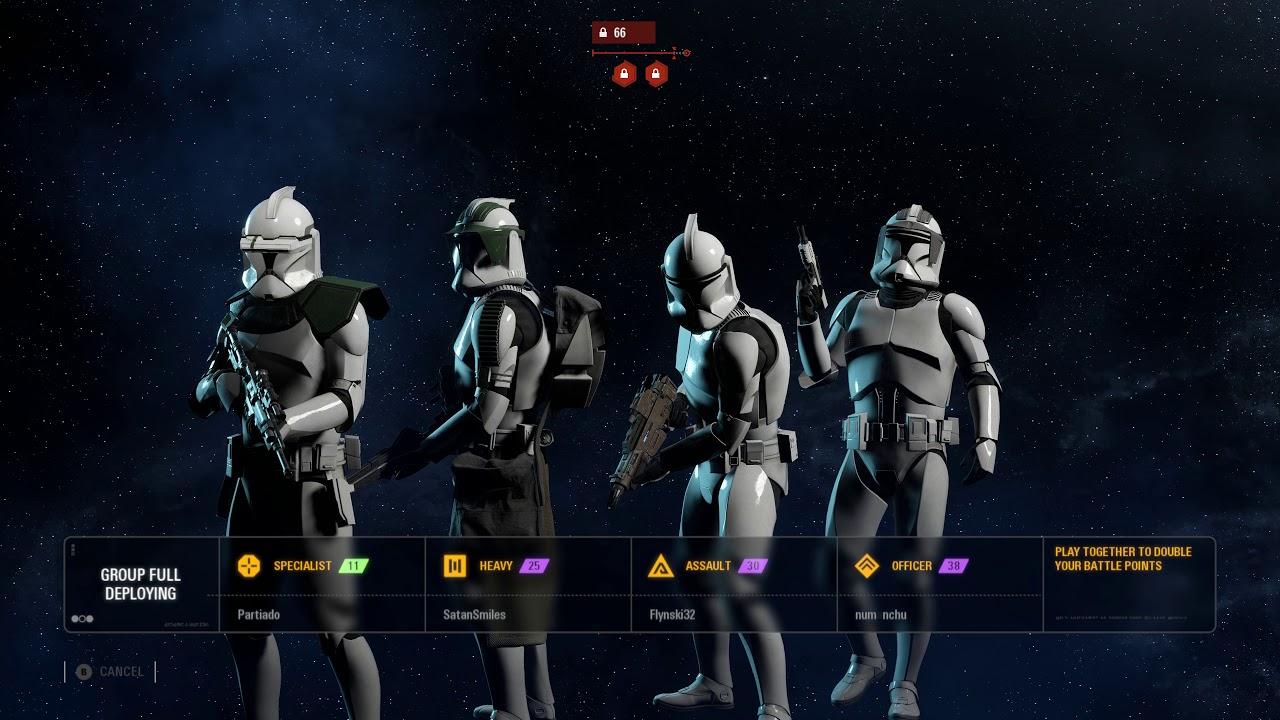 phase 1 clones on kashyyyk star wars battlefront 2 galactic