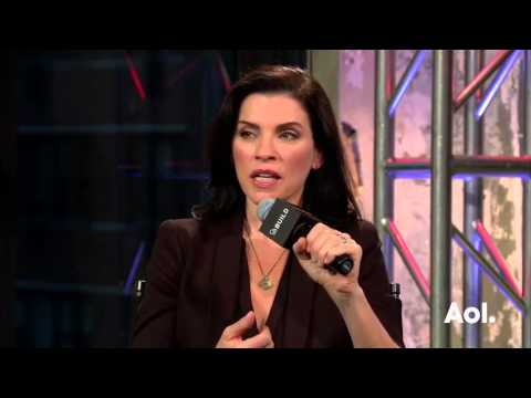 Julianna Margulies interviewed at AOL Build (8/1/2016)