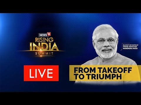 PM Modi inaugurates News18's Rising India Summit
