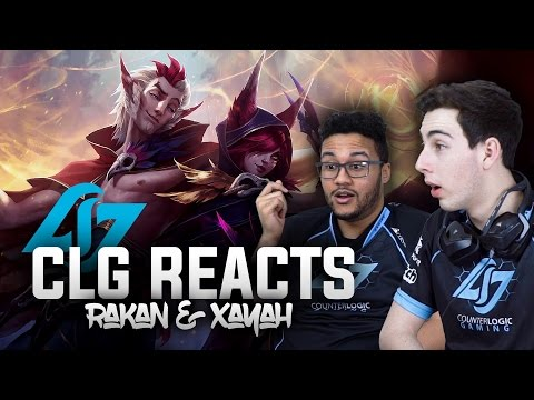 CLG REACTS | Rakan & Xayah Champion Reveal