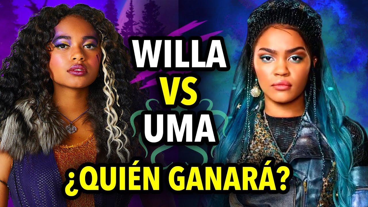 Son HERMANAS? | UMA vs WILLA | ¿Quién es MEJOR? | Zombies VS Descendientes | César Doo