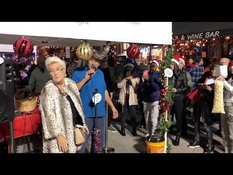 First Pres at 56th Annual Christmas on Las Olas   Say Something Nice