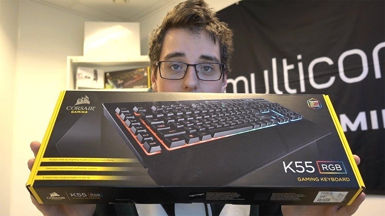 ⌨️ Corsair Gaming K55 RGB Keyboard Review ⌨️