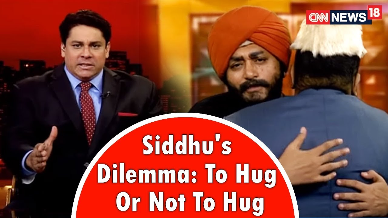 To Hug Or Not To Hug That Was The Question For Siddhu in Pakistan, Cyrus Broacha Find Out