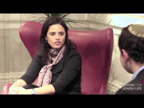 A conversation with Ayelet Shaked   Israel`s Minister of Justice CJL 2015