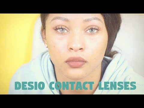 Desio Lens Review l Toric Colored Contact Lenses For Astigmatism