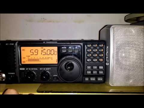Zambia NBC Radio 1 in Nyakyusa 5915KHz via Lusaka - 22DEC2016 21:51 utc