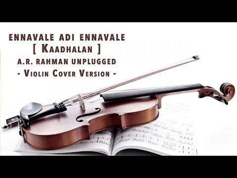 Kaadhalan | Ennavale Adi Ennavale Violin Cover | A.R Rahman | Ft. Vishnu | KKonnect Music