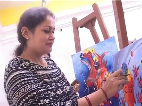 Painting Workshhop Indian Academy Of Fine Arts,Amritsar