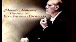 "Maurice Abravanel ""Symphony No 8"" Mahler"