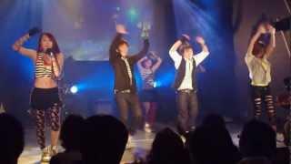 ダンスヴォーカルユニットVIC:CESSの2012年ラストパフォーマンス。12/30...