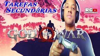⚔📛GOD OF WAR #12 TAREFAS SECUNDARIAS/UPANDO O KRATOS  .(Gameplay Ps4-Pt br).