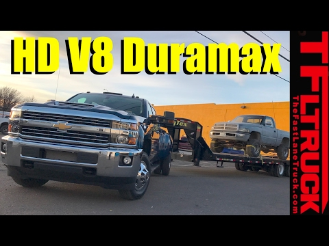 2017 Chevy Silverado HD Duramax: 0-60 MPH, Real-world MPG/Towing  Review