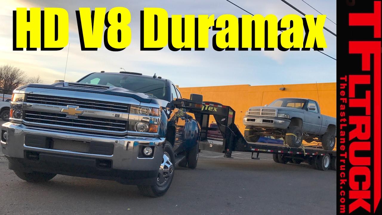 2017 Chevy Silverado Hd Duramax 0 60 Mph Real World Mpg Towing