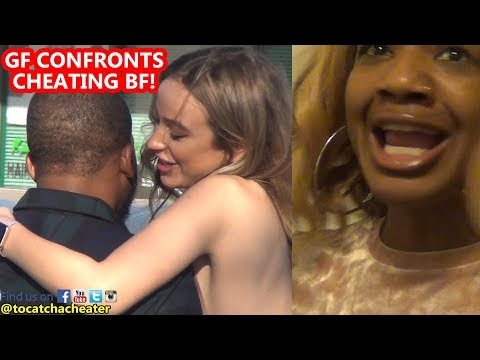 Girlfriend Confronts Boyfriend at Restaurant with Side Chick! | To Catch a Cheater