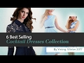 6 Best Selling Cocktail Dresses Collection By Yming, Winter 2017