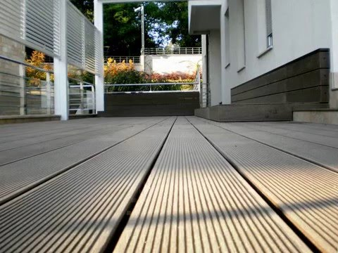 composite decking vs wood decking price - YouTube