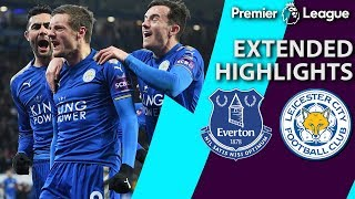 Everton v. Leicester City | PREMIER LEAGUE EXTENDED HIGHLIGHTS | 1/1/19 | NBC Sports
