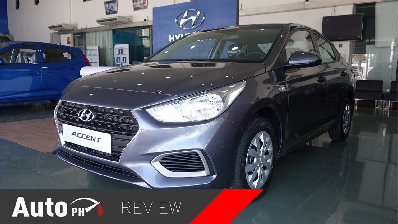 2019 Hyundai Accent Gl Exterior Interior Review Philippines Youtube