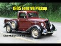 1935 Ford V8 Pickup For Sale. Charvet Classic Cars.