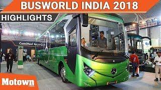 BusWorld India 2018 | Highlights | Motown India