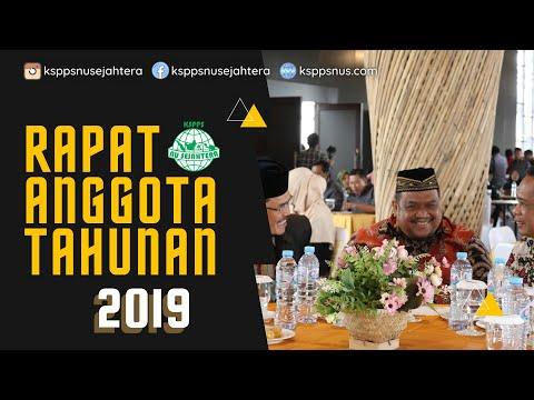 Rapat Anggota Tahunan (RAT) KSPPS NU Sejahtera 2019