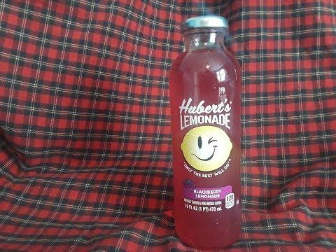 Hubert's Lemonade - Blackberry Lemonade (Review)