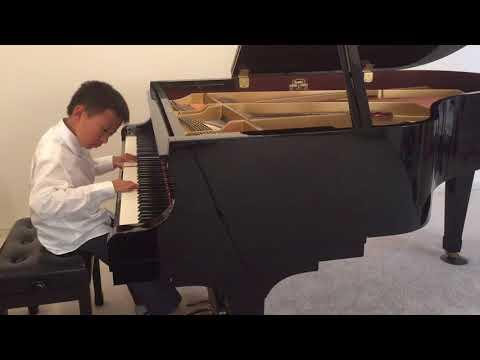 """Marek Performing """"Romance in G Major"""" by Johann Nepomuk Hummel, RCM Repertoire Level 5"""