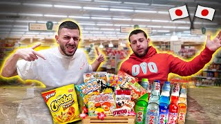 TRYING THE WORLD'S WEIRDEST JAPANESE SNACKS! *We Drank Sweat*