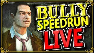 BULLY SPEEDRUN! - NEW PERSONAL BEST! (2h 39m 55s)