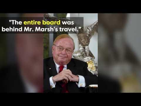 The lavish spending of Marsh Supermarkets' former longtime CEO