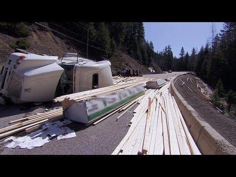 Lumber Truck Wreck | Highway Thru Hell