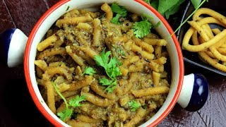 Murukku Curry   Easy Murukku Recipes   Village Travel Food