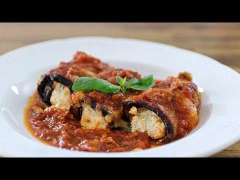 cheesy-eggplant-roll-ups-|-eggplant-rollatini-recipe