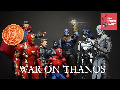 Avengers Part 3: War On Thanos (Avengers Stop-Motion)