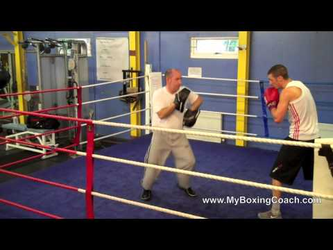 Boxing Lessons on the Focus Mitts