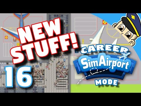 Sim Airport Gameplay Ep. 16 - New Additions and A Free Game - SimAirport Airport Simulator