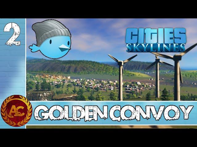 TUTTI VOGLIONO VIVERE A GOLDEN CONVOY || CITIES: SKYLINES || GAMEPLAY ITA #2