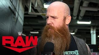 Erick Rowan offers advice for those curious about his cage Raw Exclusive Dec 10 2019