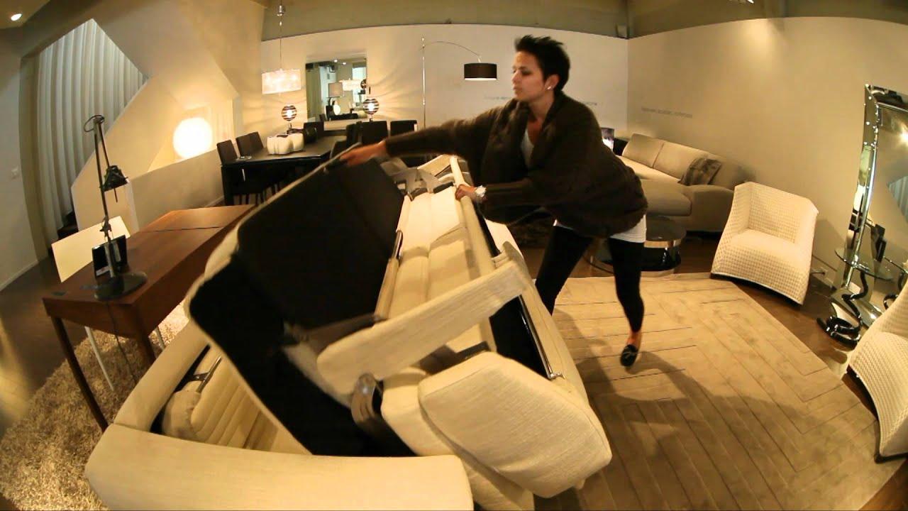 Meubles Reno  Le Nouveau Sofa Lit Deluxe  Youtube