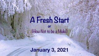 January 3, 2020 Worship