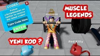 Muscle Legends Code Kodları / Kaslarımız Taş Gibi / roblox codes 2019