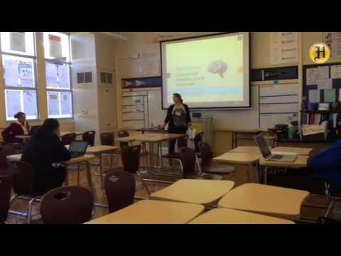 El Sausal Middle School math teacher Kim Margosian talks about 'flipping' her classroom 1/2