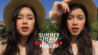SUMMER CHERRY BOMB MAKEUP | hyulari